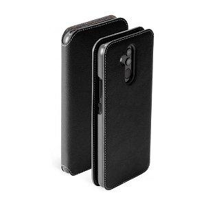 Krusell Pixbo 4 Card FolioCase Huawei Mate 20 Lite Læder Flip Cover - Sort