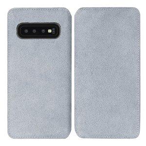 Krusell Broby Slim Wallet Samsung Galaxy S10e Ruskind Flip Cover - Grå