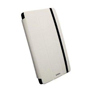 Krusell Universal Tablet Læder Cover Hvid (Maks Str. 265 x 180 mm)