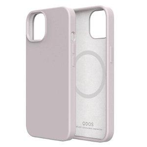 QDOS iPhone 13 Touch Pure SNAP Bagside Cover - MagSafe Kompatibel - White Sand