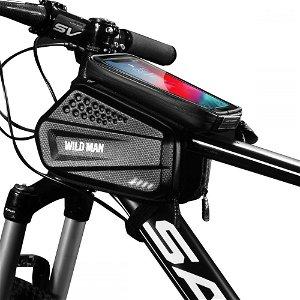 Sakwa Wildman Hardpouch - Taske til Cykel - Mount XXL - Sort