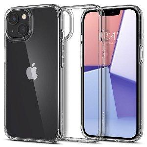 iPhone 13 Mini Spigen Ultra Hybrid Bagside Cover - Gennemsigtig