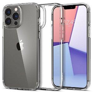 iPhone 13 Pro Max Spigen Ultra Hybrid Bagside Cover - Gennemsigtig