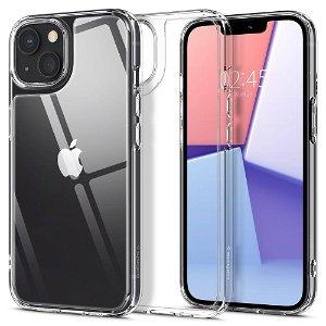 Spigen iPhone 13 Quartz Hybrid Cover - Gennemsigtig