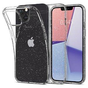 Spigen iPhone 13 Mini Liquid Crystal Glitter Cover - Gennemsigtig