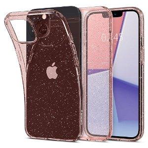 Spigen iPhone 13 Mini Liquid Crystal Glitter Cover - Rose