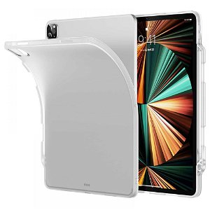iPad Pro 12.9 (2021 / 2020 / 2018) ESR Project Zero Matte Cover - Gennemsigtig