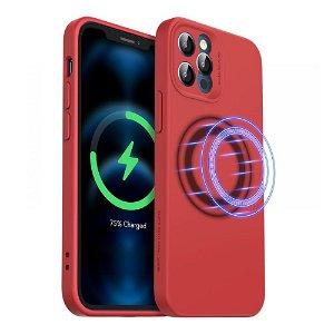 iPhone 12 Pro Max ESR MagSafe Kompatibel Cloud HaloLock Case V2  - Rød