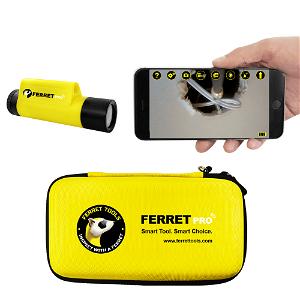 Ferret Tools Inspektions Kamera Ferret Pro - Sort / Gul