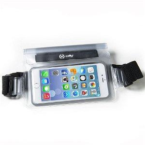 Celly IPX8 Vandtæt Løbebælte til Smartphones m. Touchfunktion (Maks. Mobil: 160 x 80 x 10 mm)