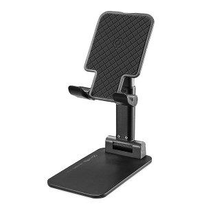 Celly Portable Magic Desk Holder - Stander Til Mobil & Tablet - Sort