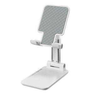 Celly Portable Magic Desk Holder - Stander Til Mobil & Tablet - Hvid