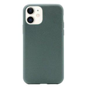 Puro Green Miljøvenligt 100% Plantebaseret Cover Til iPhone 12 Mini - Grøn