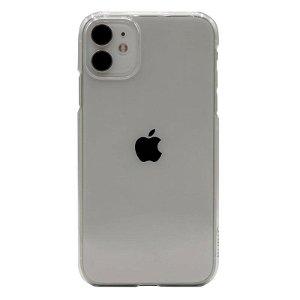 Puro Green Miljøvenligt 100% Genbrugsplast Cover Til iPhone 12 Mini - Gennemsigtigt