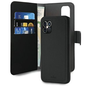 iPhone 12 Pro Max Puro Wallet Detachable 2-In-1 Cover - Sort
