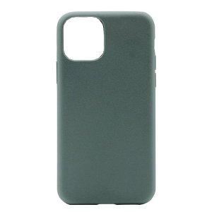 Puro Green Miljøvenligt 100% Plantebaseret Cover Til iPhone 12 Pro / 12 - Grøn