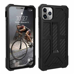 UAG MONARCH Series iPhone 11 Pro Max Cover Carbon - Sort