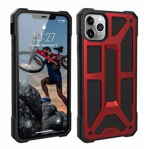 UAG MONARCH Series iPhone 11 Pro Max Cover Crimson - Rød