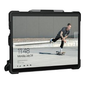 Microsoft Surface Pro X Urban Armor Gear (UAG) Plasma Series Case - Sort