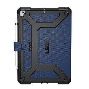 """UAG iPad 10.2"""" (2021 / 2020 / 2019) Metropolis Urban Armor Gear Case - Blå"""