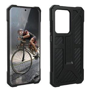 UAG MONARCH Series Samsung Galaxy S20 Ultra Plastik Cover - Carbon - Sort