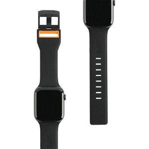 Apple Watch 42mm / 44mm UAG Civilian Strap - Sort / Orange