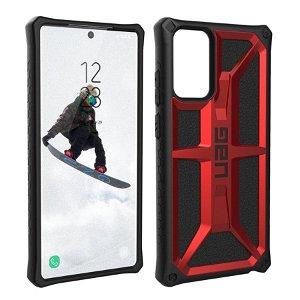 Samsung Galaxy Note 20 Ultra UAG MONARCH Series Cover - Crimson - Rød