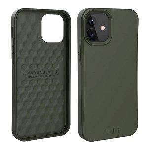 iPhone 12 Mini UAG OUTBACK Bio Series Cover - Olive - Grøn