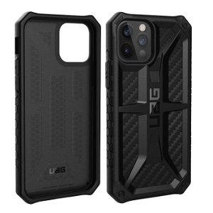 iPhone 12 Pro / 12 UAG MONARCH Series Cover - Carbon - Sort