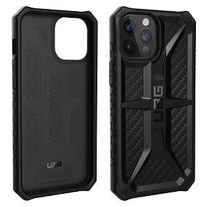 iPhone 12 Pro Max UAG MONARCH Series Cover - Carbon Fiber
