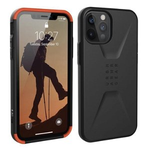 iPhone 12 Pro Max UAG CIVILIAN Series Cover - Black - Sort