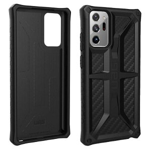 Samsung Galaxy Note 20 Ultra UAG MONARCH Series Cover - Carbon - Sort