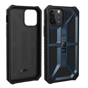 iPhone 12 Pro / 12 UAG MONARCH Series Cover - Mallard - Blå
