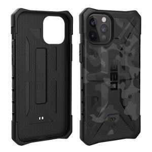 iPhone 12 Pro / 12 UAG Pathfinder Series - Midnight Camo - Sort/Grå