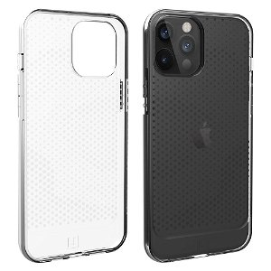 iPhone 12 Pro Max UAG [U] Lucent Series Cover - Ice - Gennemsigtig