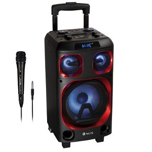 NGS Bluetooth Wildska Zero Partyspeaker Højttaler 120W - Sort