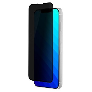 QDOS iPhone 13 Mini OptiGuard Privacy Glass Skærmbeskyttelse - Gennemsigtig