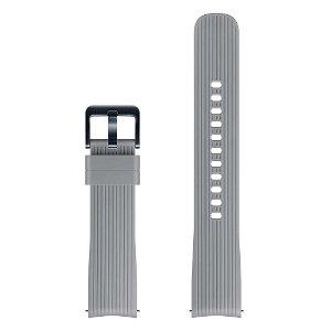 Original Samsung Watch Active Silicone Band (ET-YSU81MJ) (20mm) - Grå