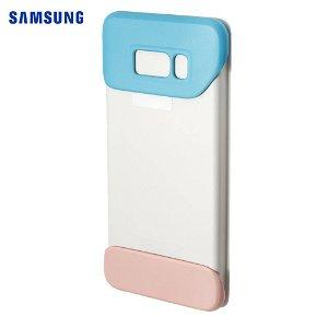 Original Samsung Galaxy S8+ (S8 Plus) Protective Cover EF-MG955CL - Blå / Fersken