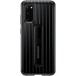 Original Samsung Galaxy S20 Protective Standing Cover EF-RG980CB - Sort