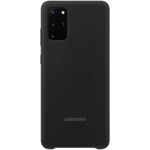 Original Samsung Galaxy S20+ (Plus) Silicone Cover EF-PG985TB - Sort