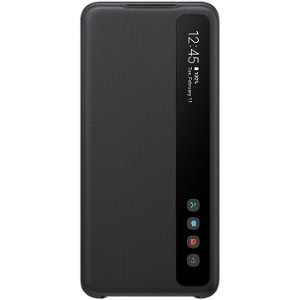 Original Samsung Galaxy S20 Clear View Cover EF-ZG980CB - Sort