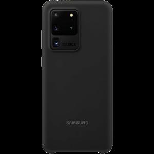 Original Samsung Galaxy S20 Ultra Silicone Cover EF-PG988TB - Sort