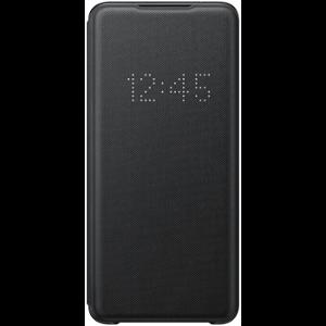 Original Samsung Galaxy S20+ (Plus) LED View Cover m. Pung - EF-NG985PB - Sort