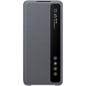 Original Samsung Galaxy S20 Ultra Clear View Cover EF-ZG988CJ - Grå