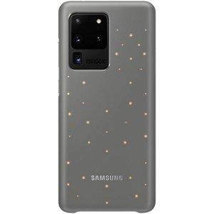 Original Samsung Galaxy S20 Ultra LED Cover EF-KG988CJ - Grå