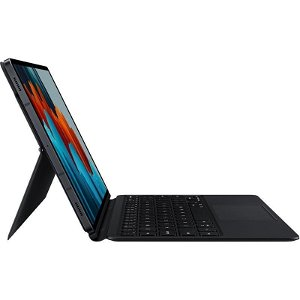 Original Samsung Galaxy Tab S7 Book Cover Keyboard - Black
