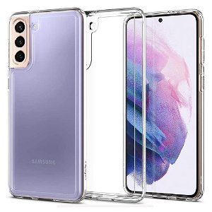 Samsung Galaxy S21 Spigen Ultra Hybrid Bagside Cover - Gennemsigtig