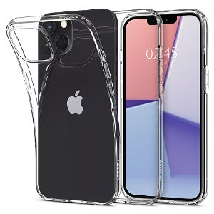 Spigen iPhone 13 Liquid Crystal Cover - Gennemsigtig