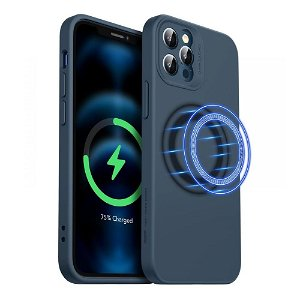 iPhone 12 Pro Max ESR MagSafe Kompatibel Cloud HaloLock Case V2  - Blå